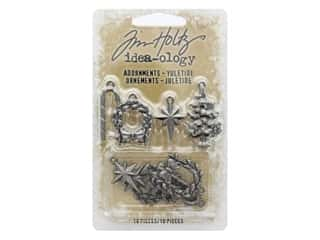 Tim Holtz Idea-ology Christmas Adornments Yuletide