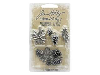 scrapbooking & paper crafts: Tim Holtz Idea-ology Christmas Adornments Festive