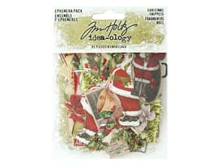 Tim Holtz Idea-ology Christmas Ephemera Snippets