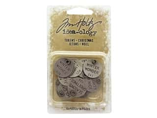 Tim Holtz Idea-ology Christmas Tokens