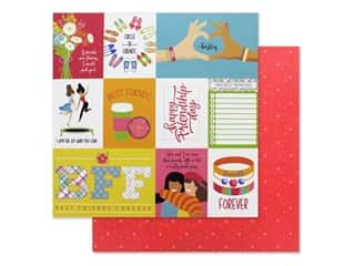 Photo Play Collection Best Friends Paper 12 in. x 12 in. Besties (25 pieces)