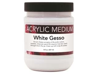 Art Advantage Medium Acrylic Gesso 8 oz White