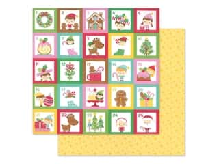 scrapbooking & paper crafts: Doodlebug Collection Christmas Magic Paper 12 in. x 12 in. (25 pieces)