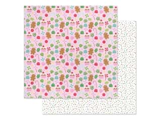 Doodlebug Collection Christmas Magic Paper 12 in. x 12 in. Visions Of Sugarplums (25 pieces)