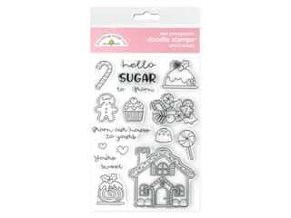 Doodlebug Collection Christmas Magic Doodle Stamp Santa's Sweets