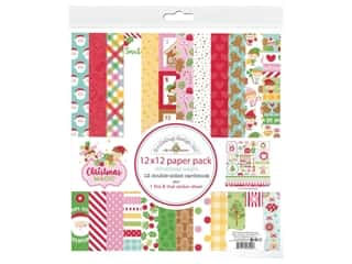 Doodlebug Collection Christmas Magic Paper Pack 12 in. x 12 in.
