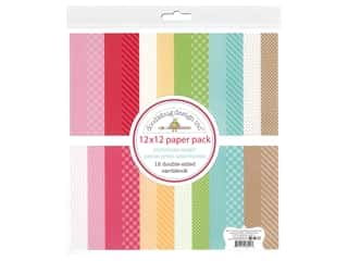 Doodlebug Collection Christmas Magic Paper Pack 12 in. x 12 in. Petite