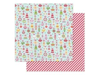 Doodlebug Collection Christmas Magic Paper 12 in. x 12 in. Deck The Halls (25 pieces)