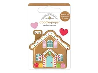 Doodlebug Collection Christmas Magic Doodle Pops Cookie Cottage
