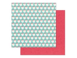 Doodlebug Collection Christmas Magic Paper 12 in. x 12 in. Jolly St Nick (25 pieces)