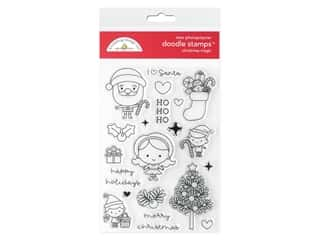 scrapbooking & paper crafts: Doodlebug Collection Christmas Magic Doodle Stamp