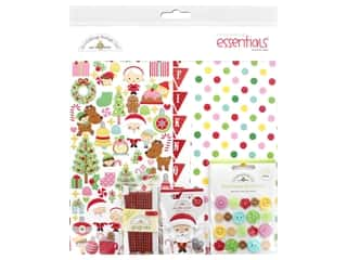 scrapbooking & paper crafts: Doodlebug Collection Christmas Magic Essentials Kit