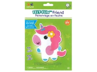 craft & hobbies: Multicraft Krafty Kids Felt Friends Kit Baby Unicorn