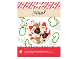 American Crafts Collection Sweet Sugarbelle Cookie Cutter Christmas Here Comes Santa