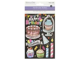 Multicraft Sticker 3D Handmade Happy Birthday