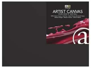 art, school & office: Art Advantage Artist Canvas 18 in. x 24 in. Black