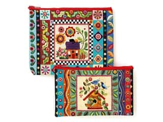 C&T Publishing Totes Colorful Creatures Eco Pouch Set