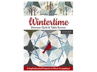 C&T Publishing Wintertime Shimmer Quilt & Table Runner Pattern