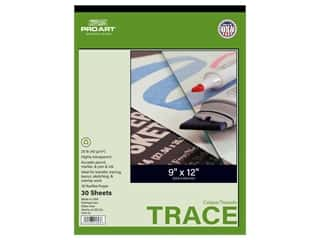 Pro Art Tracing Paper Pad 25 lb 9 in. x 12 in. 30 pc
