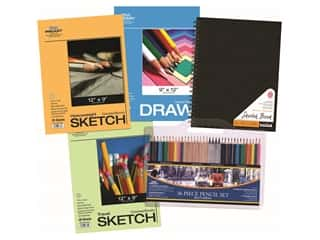 projects & kits: Pro Art Drawing Set Paper/ Pencil Spiral Value Pack