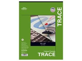 Pro Art Tracing Paper Pad 25 lb 18 in. x 24 in. 50 pc