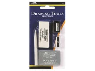 Pro Art Eraser Sharpener Stump Drawing Value Pack (4 sets)