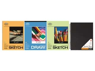 Pro Art Sketch Paper Set 4 pc. Wirebound Edition