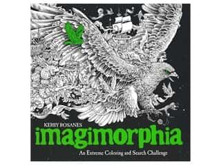 books & patterns: Plume Publishing Imagimorphia Extreme Coloring Book