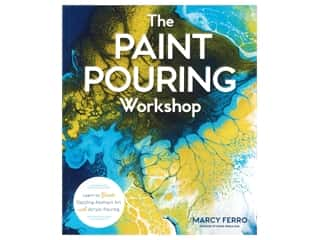 books & patterns: Lark The Paint Pouring Workshop Book