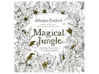 books & patterns: Penguin Magical Jungle Coloring Book