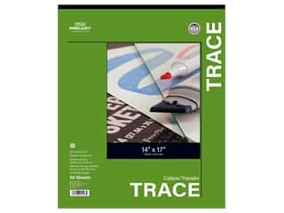 Pro Art Tracing Paper Pad 25 lb 14 in. x 17 in. 50 pc