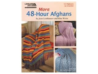 Leisure Arts More 48 Hour Afghans Book