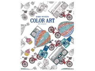 books & patterns: Leisure Arts Hobby Wonders Color Art For Everyone Colorig Book