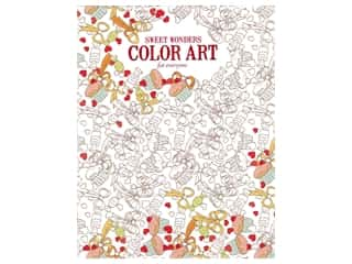books & patterns: Leisure Arts Sweet Wonders Color Art For Everyone Colorig Book
