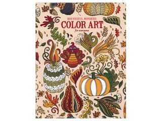 books & patterns: Leisure Arts Bountiful Wonders Color Art For Everyone Coloring Book