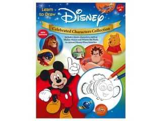 books & patterns: Walter Foster Learn to Draw Disney Celebrated Characters Collection