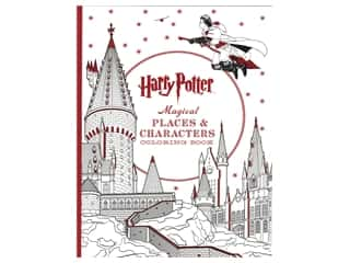 books & patterns: Scholastic Harry Potter Magical Places & Characters Coloring Book