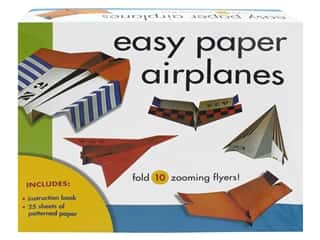 Sterling Easy Paper Airplanes Kit & Book