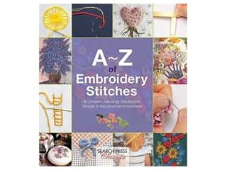 Search Press A To Z Embroidery Stitches Book