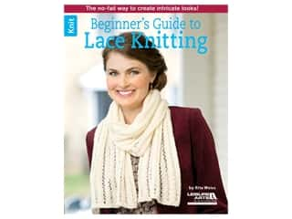 Leisure Arts Beginner's Guide to Lace Knitting Book