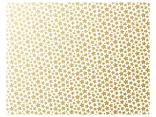 American Crafts Poster Board 22 x 28 in. Foil Gold Stars