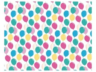 scrapbooking & paper crafts: American Crafts Poster Board 22 x 28 in. Foil Birthday Balloon