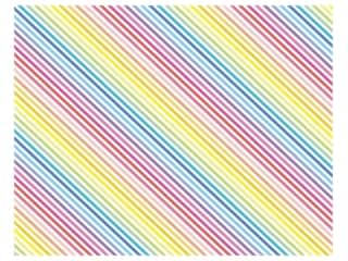 scrapbooking & paper crafts: American Crafts Poster Board 22 x 28 in. Rainbow Stripes