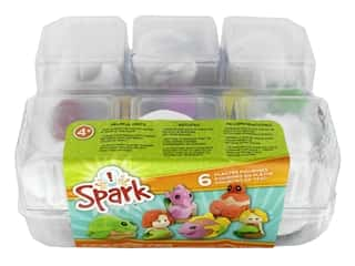 Colorbok Kit Spark Plaster Value Pack Mermaids