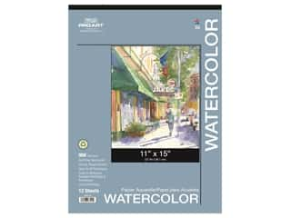 Pro Art Watercolor Paper Pad 11 x 15 in. 90 lb. 12 Sheet