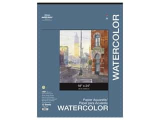Pro Art Watercolor Paper Pad 18 x 24 in. 140 lb. 12 Sheet