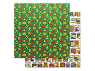 Photo Play 12 x 12 in. Paper No Pun Intended Taco Bout It (25 pieces)