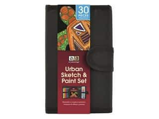 Art Advantage Art Set Urban Sketch & Paint 30pc