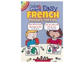 Dover Publications Little Color & Learn Easy French Book
