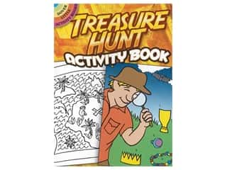 books & patterns: Dover Publications Little Treasure Hunt Activity Book